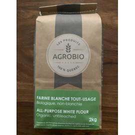 Farine biologique de blé intégral 2 Kg