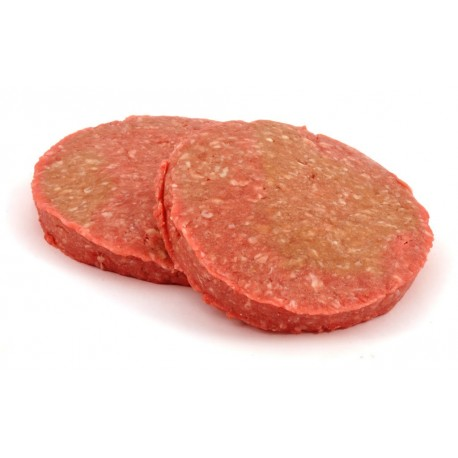 Hamburger de veau naturel haché