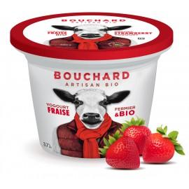 Yaourt biologique aux fraises