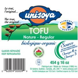 Tofu biologique nature