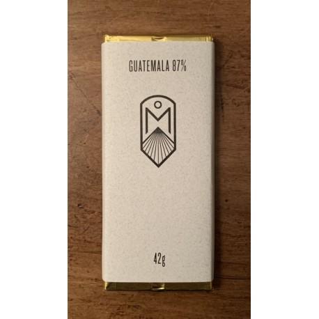 Chocolats Monarque Guatemala 87 %